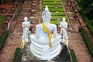 Buddha And His Followers Royalty Free Stock Image - Image: 19580936