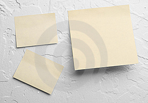 Yellow Sticky Notes Royalty Free Stock Images - Image: 19584319
