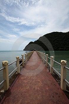 The Long Bridge Stock Photo - Image: 19584710