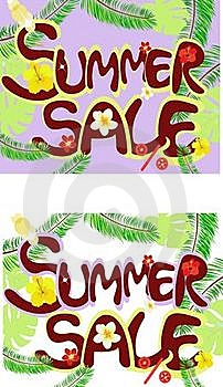 Summer Sale Royalty Free Stock Photo - Image: 19587695