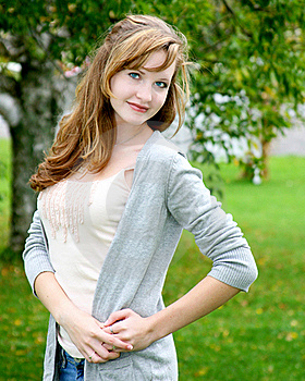 Posing Teen Stock Images - Image: 19587974