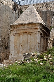 Ancient Tomb Of Zechariah In Jerusalem Stock Photo - Image: 19590590