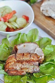 Roasted Rib Steak Royalty Free Stock Image - Image: 19590606