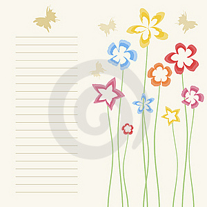 Flower A Background2 Royalty Free Stock Photography - Image: 19593497
