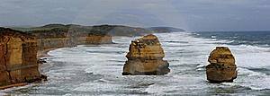 Twelve Apostle Coastline Stock Image - Image: 19593601