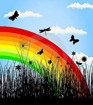 Rainbow3 Stock Photos - Image: 19593663