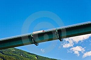 Europe Bridge At Brenner Highway Stock Photos - Image: 19593983