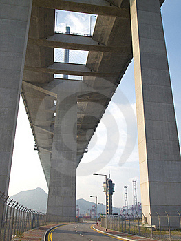 Transportation Bridge And Road Royalty Free Stock Image - Image: 19595786