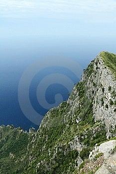 Cliffs Of Capri Stock Image - Image: 19597311