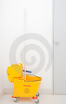 Mop And Bucket Stock Images - Image: 19597444