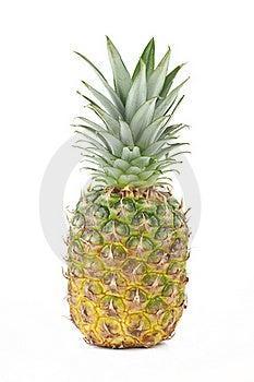 One Full Pineapple. Royalty Free Stock Photo - Image: 19597945