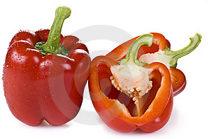 Red Peppers Stock Photo - Image: 19599560
