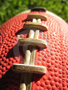 Football detail Stock Photo