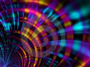 Fractal Flares Swirls and Twirls Texture 2 Stock Image