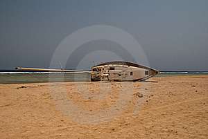 Abandoned Ship Wreck Stock Photos - Image: 19600473