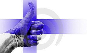 Thumbs Up Finland Royalty Free Stock Image - Image: 19600546