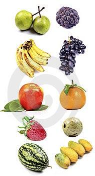 Fresh Fruits Stock Photo - Image: 19601110
