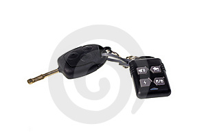 Key With The Alarm System Royalty Free Stock Photos - Image: 19602008