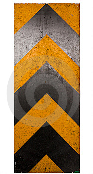 Dirty Warning Traffic Corner Sign Stock Photos - Image: 19602013