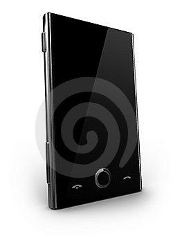 Futuristic Cellphone Stock Image - Image: 19603691