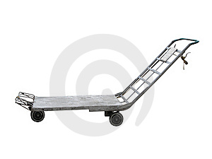 Baggage Trolley Royalty Free Stock Photography - Image: 19603977