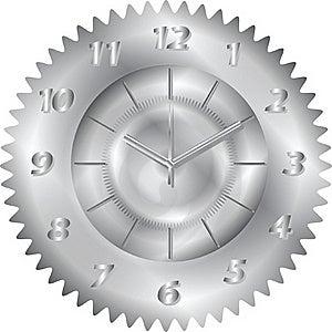 Clock Metal Gear Stock Images - Image: 19604174