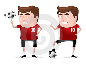 Soccer Hero Royalty Free Stock Images - Image: 19605929