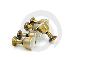 Classic Golden Cup Stock Photography - Image: 19606062