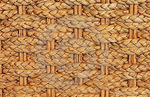 Texture Of Bamboo Weave Chair Stock Photos - Image: 19606163