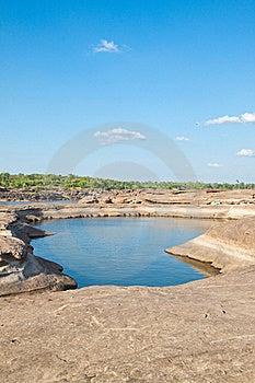 Das Überraschen Des Felsens Stockfotos - Bild: 19606183
