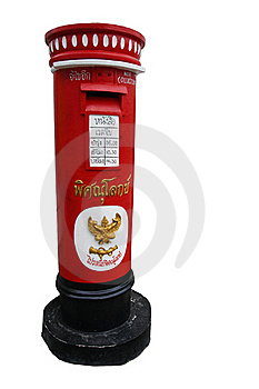 Classic Post Box Royalty Free Stock Photos - Image: 19606298