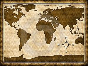 World Map Royalty Free Stock Photo - Image: 19606885