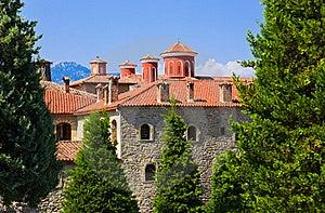 Meteora Monastery In Greece Royalty Free Stock Photos - Image: 19607858