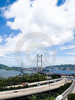 Tsing Ma Bridge Stock Photography - Image: 19608052