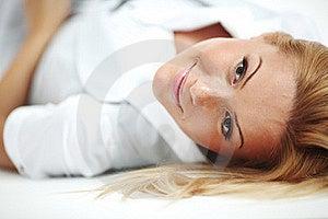 Woman Close Up Portrait Stock Images - Image: 19608544
