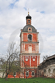 Belfry In Goritsky Monastery Of Pereslavl-Zalessky Royalty Free Stock Photos - Image: 19611828