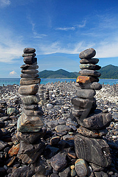 Stack Of Stones Stock Photos - Image: 19612263