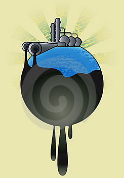 Oil Pollution Background. Stock Photos - Image: 19612773