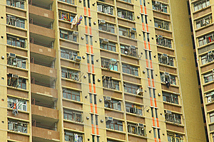 Hong Kong Apartment Blocks Stock Photos - Image: 19614953