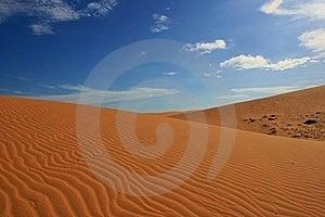 Red Sand Dunes Stock Photo - Image: 19615370
