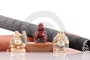 Chinese Cultural Buddha Statues Royalty Free Stock Image - Image: 19615656