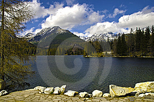 Lake In High Mountain Royalty Free Stock Photography - Image: 19616367
