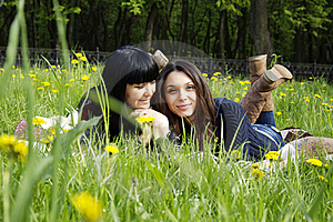 Mother And Daughter Royalty Free Stock Photos - Image: 19616808