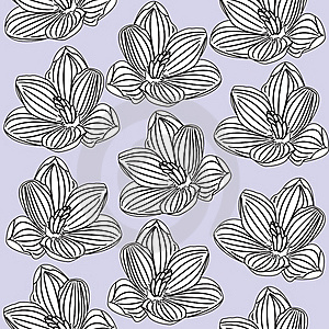 Seamless Floral Pattern Royalty Free Stock Images - Image: 19617039