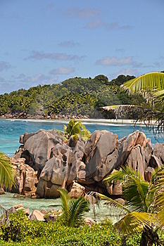 Anse Cocos Royalty Free Stock Images - Image: 19618619
