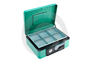 Cash Box Royalty Free Stock Photography - Image: 19619017