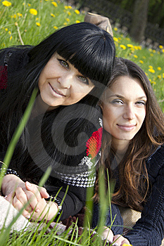 Mother And Daughter Stock Photography - Image: 19619262