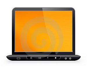 Laptop Royalty Free Stock Image - Image: 19621076