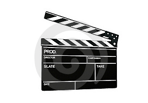 Clapperboard Stock Photos - Image: 19629413