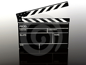 Clapperboard Stock Photos - Image: 19629443